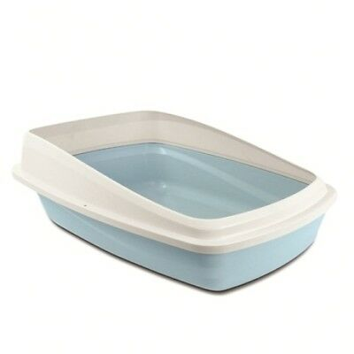 Cat Love Large Cat Litter Tray with Rim