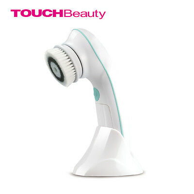 Rotary Facial Cleansing Brush Waterproof  2 Speed Face Scrubber Exfoliators