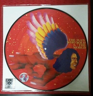 David Bowie The Man Who Sold The World Rsd 2016 Picture Vinyl. Limited To 5000