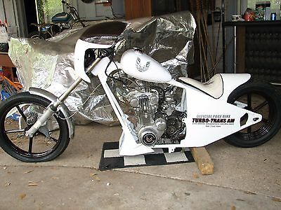 chopper motorcycle parts one of a kind 1970 1980 INDY Honda frm Trans Am chopper