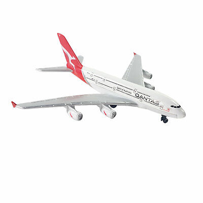 Qantas Airbus A380-800 Superjumbo VH-OQF 1:500 die-cast toy model A380 aircraft