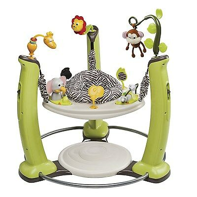 Evenflo ExerSaucer Jump and Learn Jumper Jungle Quest Jungle Quest