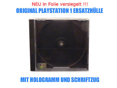 ★ Playstation PS1 - ORIGINAL ERSATZHÜLLEN LEERHÜLLEN JEWEL CASE - NEU in Folie ★