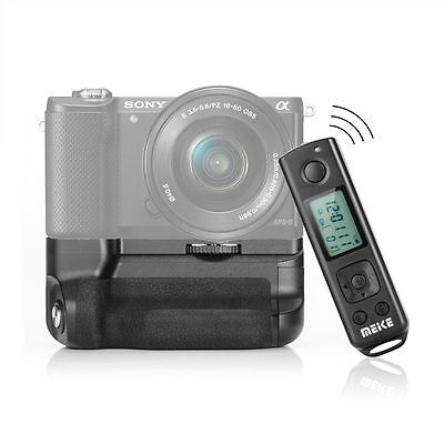 Meike MK-A6300 Pro 2.4G Remote Vertical Battery Grip for Sony E A6300 ILCE-6300