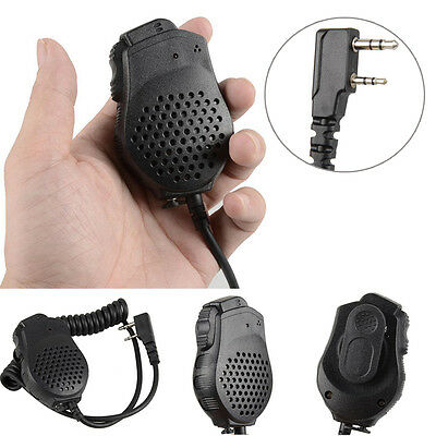 Dual Push PTT Lautsprecher Mic für Baofeng UV-82 Two Way Radio Walkie Talkies