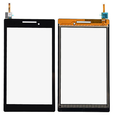 Black Touch Screen Digitizer Glass For 7.0'' Lenovo TAB 2 A7-10 Replacement CNOG