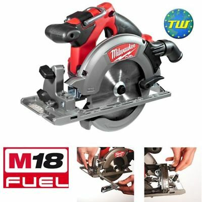 Milwaukee M18 CCS55-0 M18 Fuel 18V Circular Saw (Body Only) with Blade & Fence