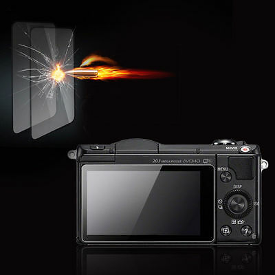 Premium Tempered Glass Camera Screen HD Protector for Sony A3000/A5000/A6000 D#