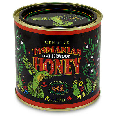 NEW Tasmanian Honey Leatherwood Honey 750g