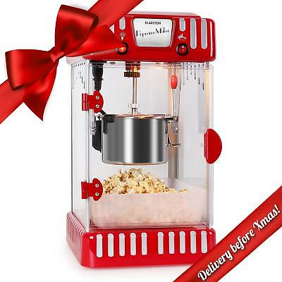 Electric Popcorn Maker Machine 60L Per Hour Stainless Steel Low Fat Easy Clean