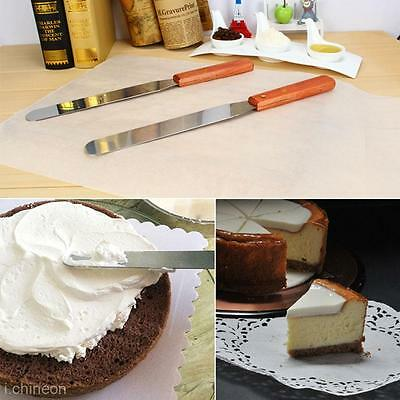 Icing Spatula Smoother Frosting Spreader Fondant Pastry Cake Decorating DIY Tool