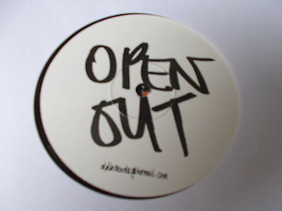 "Leftfield Open Out 12"" DDB Records 2003"