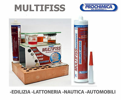 SILICONE SIGILLANTE IN IMMERSIONE RESISTENTE ACQUA 290ml MULTIFISS PROCHIMICA