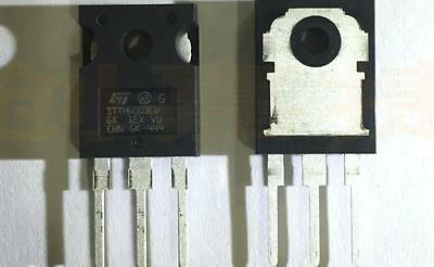 10 PCS STTH6003CW HIGH FREQUENCY SECONDARY RECTIFIER TO-247 New