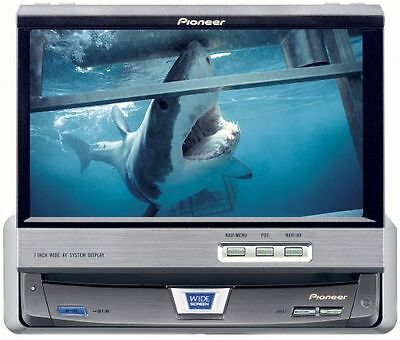 **NEW** PIONEER AVX-7600 7-inch in-dash motorised colour display (only) PAL TV