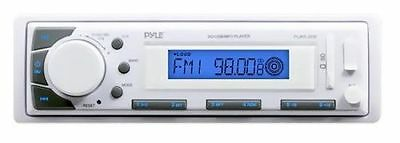 Pyle PLMR20W Marine Stereo AM/FM Receiver USB/SD Player AUX-IN for iPod/MP3