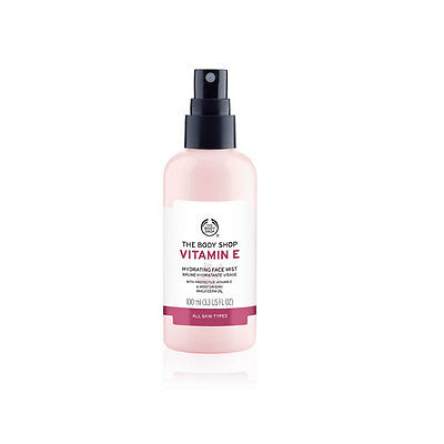 Body Shop ◈ VITAMIN E FACE MIST ◈ With Hydrating, Refreshing Rosewater ◈ 100ml