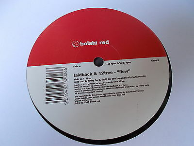 "Laidback & 12 Tree Flow 12"" Bolshi Red 2001 BREDT2"