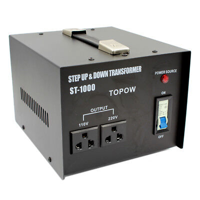 1000W Voltage Transformer 1000 Watt Step Up Down converter Heavy Duty Use