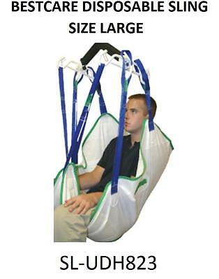 Bestcare Disposable Patient Sling w/ Head Support Size Large SL-UDH823 FREE MAIL