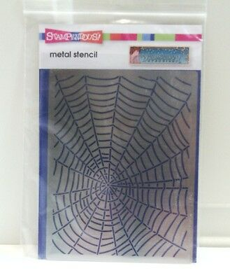 "Dreamweaver Stencils ""Spider Web"" Metal Stencil New"