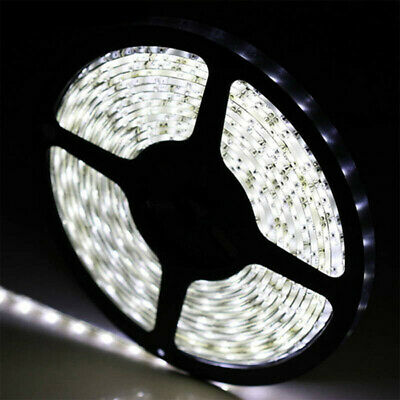5M 3528 SMD 300 LED Non-Waterproof  Flexible Strip Light DC 12V Cool White