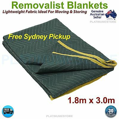 Furniture Moving Blanket Removalist Pads Quilted Padded Burlap Pad FREE POST