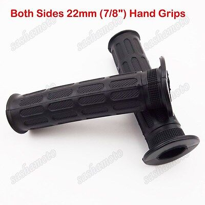 7/8'' 22mm Rubber Handle Hand Grips For 50cc 110cc 125cc 150cc Chinese ATV Quad