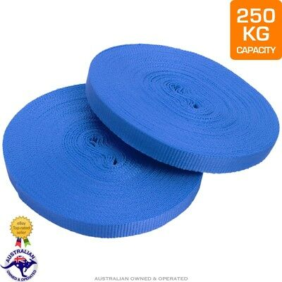 Cargo Strapping Truck Ties for Removalist Packing Moving Furniture 25mm x 50M