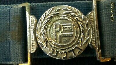 Israel Gadna airforce belt [ARM10109] original belt - rare!!