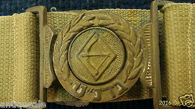 Israel Gadna belt [ARM10108] original old!