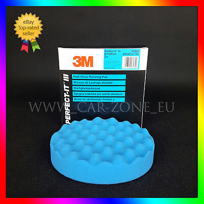 1 x 3M Perfect-it III 50388 Polishing Pad blue 150mm for Ultrafina High Gloss