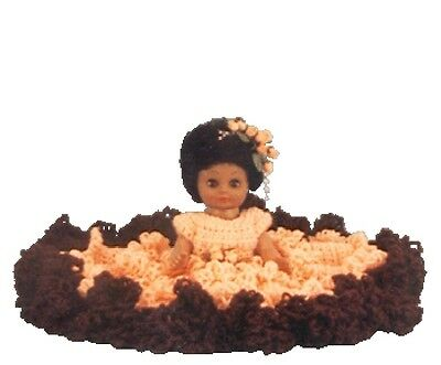 13 Kathy Crochet Bed Doll Pattern 761