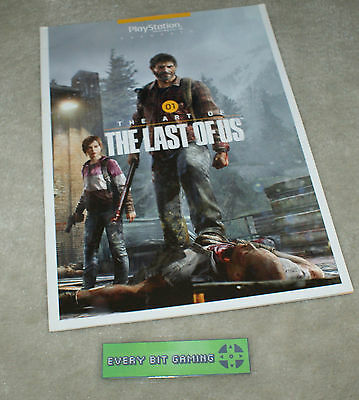 Official Playstation Magazine UK Presents 01 The Art of The Last of Us - booklet