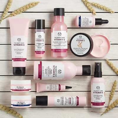 Body Shop Best Sellers ◈ VITAMIN E COLLECTION ◈ Complete Anti-aging Skincare