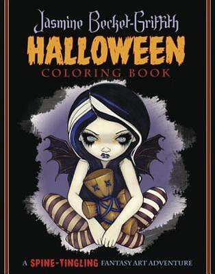 Jasmine Becket-Griffith Halloween Coloring Book: A Spine-Tingling Fantasy Art A