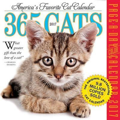 365 Cats Page-A-Day Calendar 2017