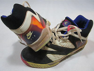 Nike Air Challenge Court Sneaker Tech Lava Trainers Schuhe Vintage early 90s 12