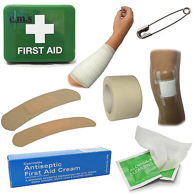 CMS Medical M1 All Round Travel Car Home Taxi Office Compact Handy First Aid Kit