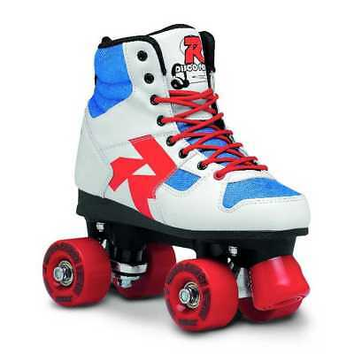 Roces Unisex Disco Palace Fitness Quad Skates Roller Skate Red/White/Mint 550039