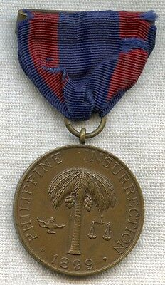 Numbered US Army Campaign Medal for the 1899 Philippine Insurrection