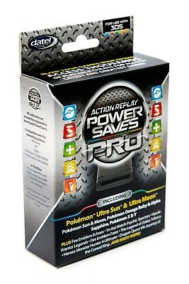 Action Replay Powersaves 3DS PRO - Brand New and Factory Sealed - Pokemon codes