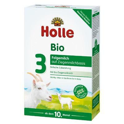 Holle Organic Goat Milk Stage 3 (4 boxes x 400g) FAST SHIPPING. Expires 05/2019