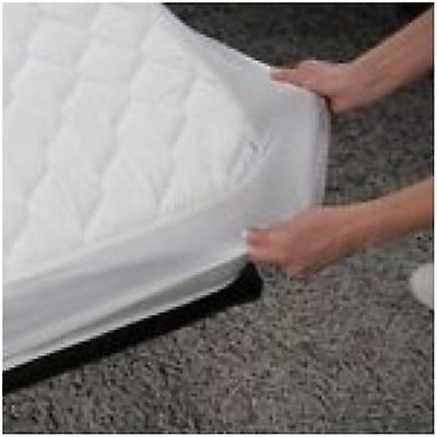 Double BED WETTING VINYL PLASTIC FITTED MATTRESS COVER SHEET PROTECTOR - NEW