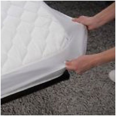 King BED WETTING VINYL PLASTIC FITTED MATTRESS COVER SHEET PROTECTOR - NEW