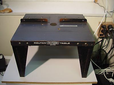Craftsman Router Table - model 25168