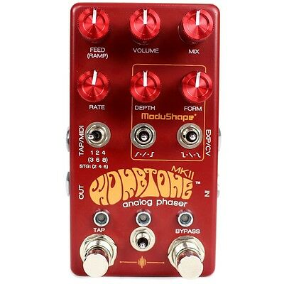 Chase Bliss Audio Wombtone MKII Analog Phaser Guitar Effects Stompbox Pedal