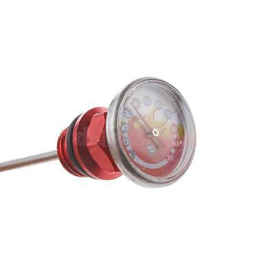 Universal Motorcycle Parts Oil Tank Dipstick w/ Temperature Gauge for ATV