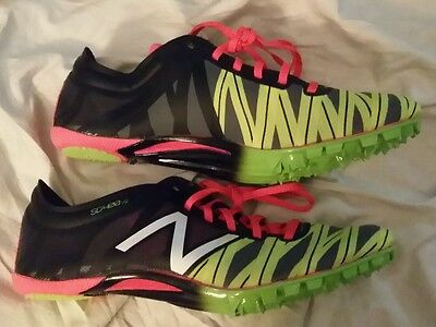 NEW retail $110 NEW BALANCE SD400 v2 Track shoes w/ spikes womens  size 9.5