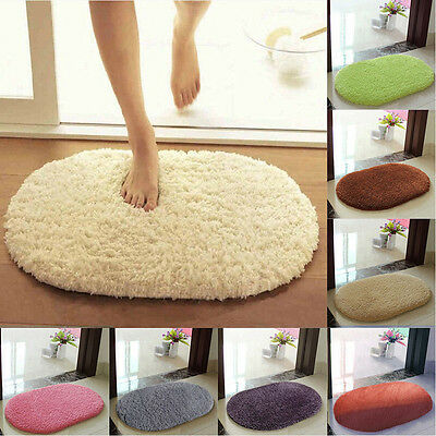 Absorbent Soft Bedroom Bathroom Floor Non-slip Door Bath Mat Shower Rug 30*50cm